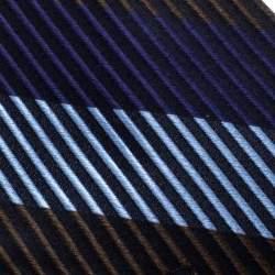 Valentino Multicolor Striped Silk Jacquard Traditional Tie
