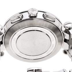 Versace Black Stainless Steel V Race 23C Women's Wristwatch 42 mm