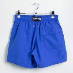 Vilebrequin Blue Moorea Solid Swim Trunks M (Available for UAE Customers Only)