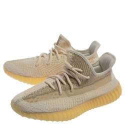 Adidas Yeezy Boost 350 V2 Cotton Knit Abez Non-Reflective Sneakers Size 44 2/3