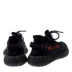 Adidas Yeezy Boost 350 V2 Black Red EU 47 1/3 US 12.5