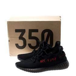 Adidas Yeezy Boost 350 V2 Black Red EU 41 1/3 US 8