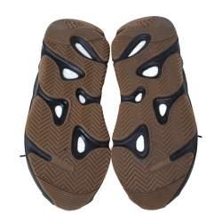 Yeezy x Adidas Dark Grey Suede And Mesh Yeezy 700 Utility Black Sneakers Size 40.5