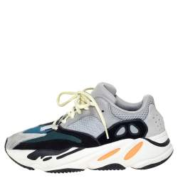 Yeezy x Adidas Multicolor Mix Media Boost 700 Wave Runner Sneakers Size 41.5