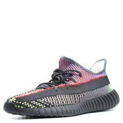 Yeezy x Adidas Multicolor Yecheil Cotton Knit Boost 350 V2 Sneakers Size 40 2/3