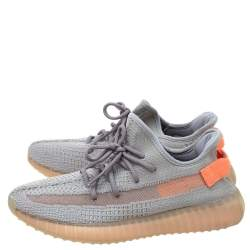 Yeezy x Adidas Grey Cotton Knit Boost 350 V2 True Form Sneakers Size 43.5