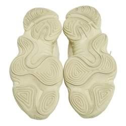 Yeezy x adidas Yellow Mesh And Suede 500 Desert Rat Low Top Sneakers Size 46 2/3