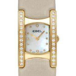 Ebel Swiss Quartz Movement Diamond 18K Gold Watch