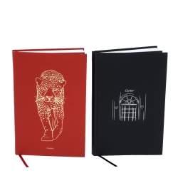 Cartier Red/Black Panther Agenda Set