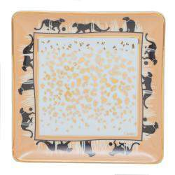 Cartier Savannah Panthere Porcelain Plate