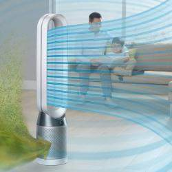 Dyson Pure Cool™ TP04 purifying fan,White/Silver (Available for UAE Customers Only)