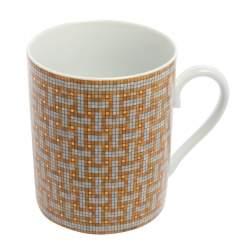 Hermès Gold Mosaïque AU 24 Mug