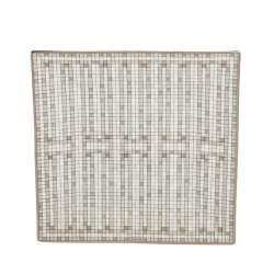 Hermes Mosaique au 24 Platinum n°2 Square Plate