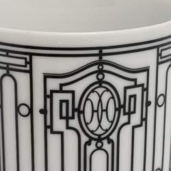 Hermes Porcelain H Deco Mug