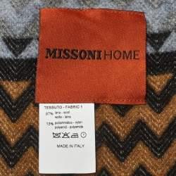 Missoni Home Multicolor Zig Zag Humbert Wool Throw