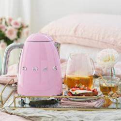 Smeg 50's Retro Style 1.7 Liter Kettle, Pink (Available for UAE Customers Only)