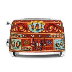 Smeg Dolce & Gabbana 2 Slice Toaster, Multicolour (Available for UAE Customers Only)
