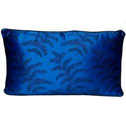 Versace Navy Blue Cotton Pillow