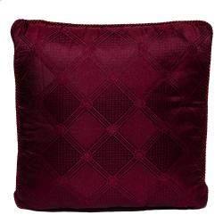 Versace Medusa Red Cotton Cushion