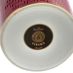 Versace X Rosenthal Méandre Porcelain Vase