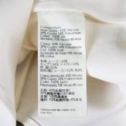 3.1 Phillip Lim Off White Zig Zag Fil Coupe Sleeveless Shirt M