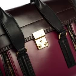 3.1 Phillip Lim Tricolor Leather Medium Pashli Satchel