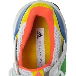 Adidas by Stella Mccartney Multicolor Fabric Low Top Sneakers Size 38.5