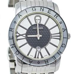 Aigner Bicolor Stainless Steel Murano A35200 Quartz Women's Wristwatch 32 mm