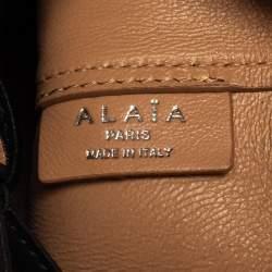 حقيبة باكيت علية روز ماري جلد سوداء