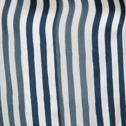 Alberta Ferretti Multicolor Print Sheer Sleeve Silk Blouse M