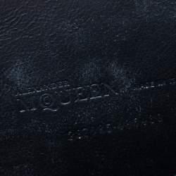 Alexander McQueen Ocelot Print Canvas IPad Case
