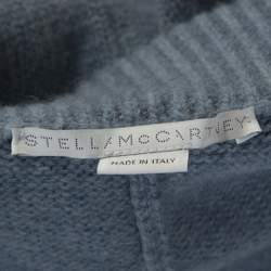 Stella McCartney Pale Blue Wool Drop Crotch Ankle Pants S
