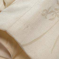 Alexander McQueen Black Silk Jacquard Contrast Hem Detail Pants M