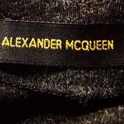 Alexander McQueen Vintage Grey Knit Halter Neck Top S
