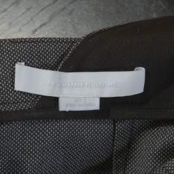 Alexander Wang Grey Wool Backless Jumpsuit S