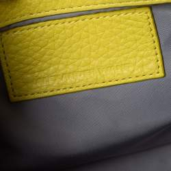 Alexander Wang Yellow Leather Small Rockie Satchel