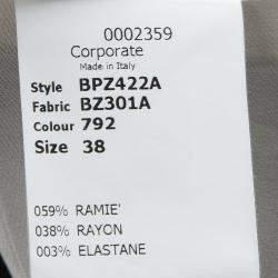 Antonio Berardi Black Lace Bodice Detail Sleeveless Fitted Dress S