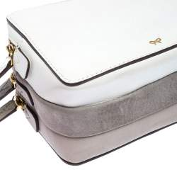 Anya Hindmarch Multicolor Leather Stack Multi Compartment Wrislet Clutch