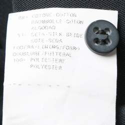 Armani Collezioni  Black Slit Detail Pencil Skirt M