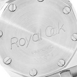 Audemars Piguet Grey Diamond 18K Yellow Gold And Stainless Steel Royal Oak Women's Wristwatch 26 MM