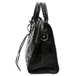 Balenciaga Black Leather Classic City Bag