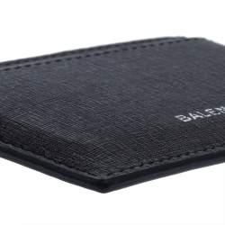 Balenciaga Black Leather Everyday Card Case