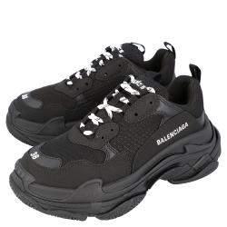 Balenciaga Black Triple S Sneakers Size EU 39