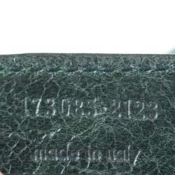 Balenciaga Vert Gazon Leather GGH Brief Bag