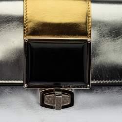 Balenciaga Multicolor Leather Cherche Clutch