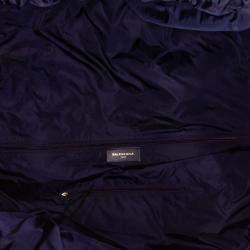 Balenciaga Blue/Black S Wheel Everyday Nylon Travel Bag