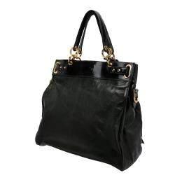 Balenciaga Spruce Green Chevre Leather Sac Lune Bag