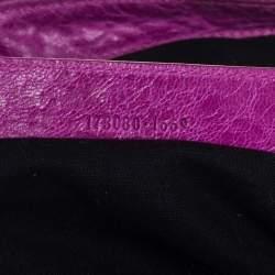 Balenciaga Magenta Leather GGH Work Tote