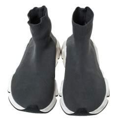 حذاء رياضي بالنسياغا سبيد ترينر تريكو طباعة رصاصي مقاس 41