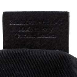 Bally Black Branchville Embossed Leather Shoulder Bag